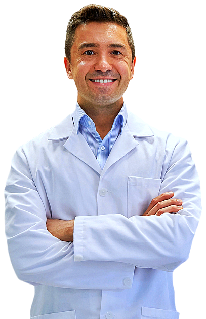 male pharmacist smiling